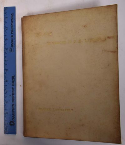 Paris/ New York: Carrefour, 1932. First Edition. Hardcover. Good- (warped velum boards with foxing t...