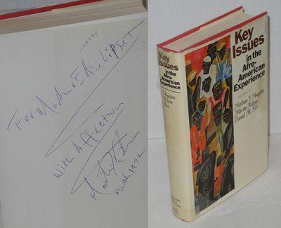 New York: Harcourt Brace Jovanovich, 1971. zv, 320p., inscribed Kilson to Seymour Martin and Elsie L...
