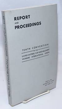 image of Report and proceedings: tenth convention