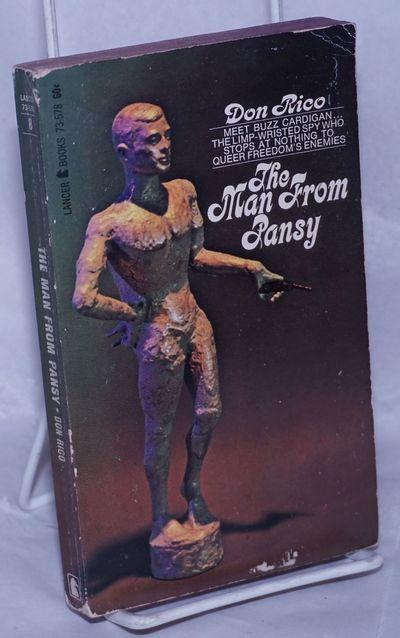 New York: Lancer Books, 1967. Paperback. 224p., very good first edition PBO inlightly-worn camp pict...