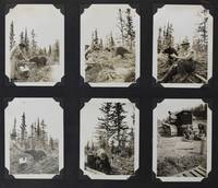 [Photo Album of Construction on the Alaska Highway in the Yukon Territory near Carcross and Whitehorse]