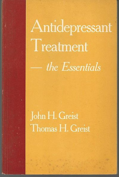 Image for ANTIDEPRESSANT TREATMENT The Essentials