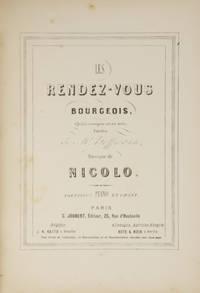 Les Rendez-Vous Bourgeois, Opéra comique en un acte, Paroles de Mr. Hoffmann... Partition Piano...