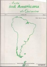 Acta sud Americana de Quimica Volume I Number 1