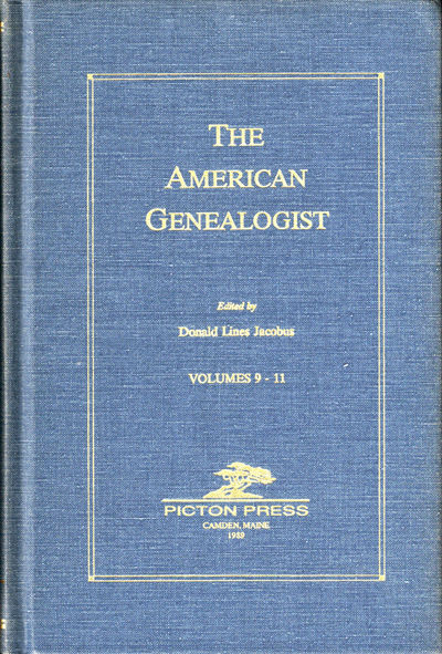 Camden: Picton Press, 1989. Hardcover. Very Good. 264pp+ index; 264pp+ index; 260pp+ index. Very goo...