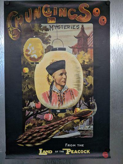 London: J. Weiner, Ltd. 20x30 Half-sheet facsimile; VG; poster has some wearing, some edgewear, mino...