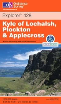 image of Kyle of Lochalsh, Plockton and Applecross (OS Explorer Map Active)
