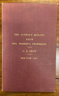 The Author's Apology from Mrs.Warren's Profession