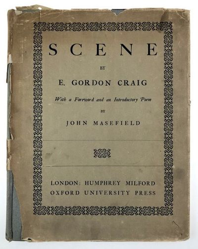 London: Humphrey Milford, 1923. First edition. First edition. 4to. Gray paper covered boards. The Tr...