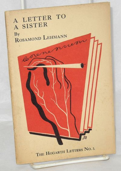 London: Published by Leonard & Virginia Woolf at The Hogarth Press, 1931. 24p., 4.75x7.25 inches, li...