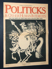 Politicks and Other Human Interests, October 25, 1977, Vol. 1, No. 1: Premier Issue