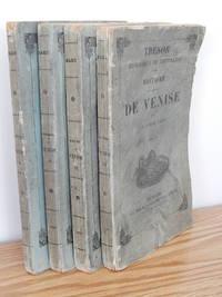 Histoire De La Republique De Venise by  Le Comte Daru [Pierre Antoine Noel Bruno] - Paperback - 1840 - from Books from Benert (SKU: 000240)