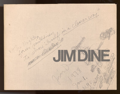 New York: Pace Gallery, 1978. Softcover. Fine/Near Fine. First edition. Fine in wrappers with a near...