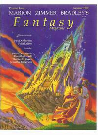 Marion Zimmer Bradley's FANTASY Magazine:  Summer 1988, Volume 1, # 1 ( Premier Issue )( Bradley )