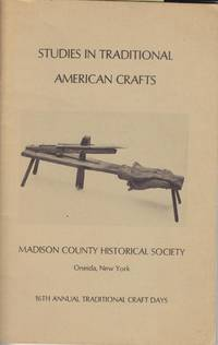 William Houck: Maker of Pounded Ash Adirondack Pack Baskets (Studies in Traditional American Crafts)