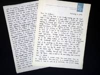 image of Correspondence Between Dr. Frances Gillmore and Jerry Crouch,  1967-1968