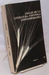 8 de la Literatura Espanola Contemporanea: Volume 6, 1981
