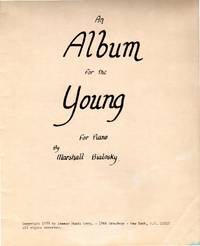 image of An Album for the Young - for Piano [MUSIC SCORE]