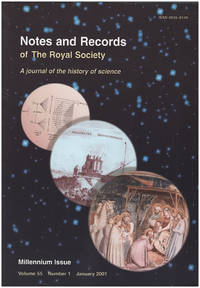 Notes and Records of The Royal Society of London: Millennium Issue (Vol 55, No. 1, January 2001)
