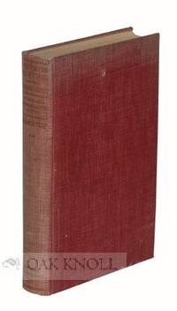 New York: R. R. Bowker Co, 1936. cloth. thick 8vo. cloth. xviii, 462 pages. The Story of the Introdu...
