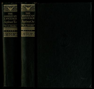 New York: Alfred A. Knopf, 1952. Hardcover. Very Good. Later printing. Two volume set. Thick octavos...