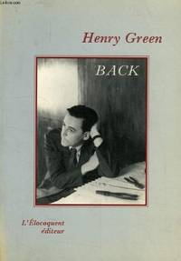 Back by Green H - 1990 - from Livre Nomade (SKU: 29099)