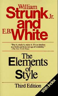 image of Elements of Style: With Index