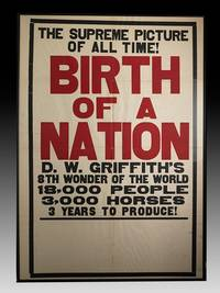 Birth of a Nation Poster by GRIFFITH D.W - 1921 - from Bauman Rare Books (SKU: 100976)