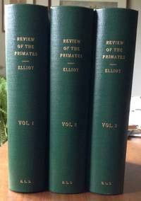 A Review of the Primates. 3 Volumes.
