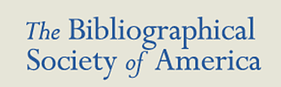 Sponsored by the Bibliographical Society of America