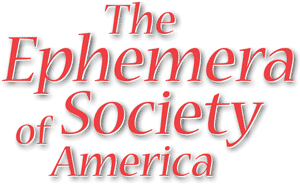 Ephemera Society of America