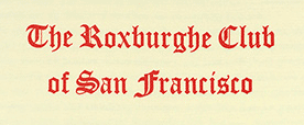 Roxburghe Club of San Francisco