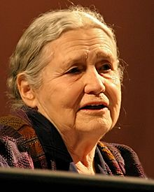 Doris Lessing photo