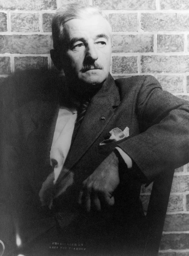 William Faulkner photo