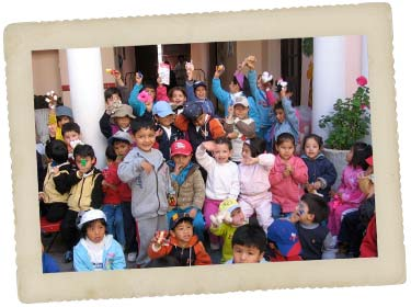 school children in bolivia
