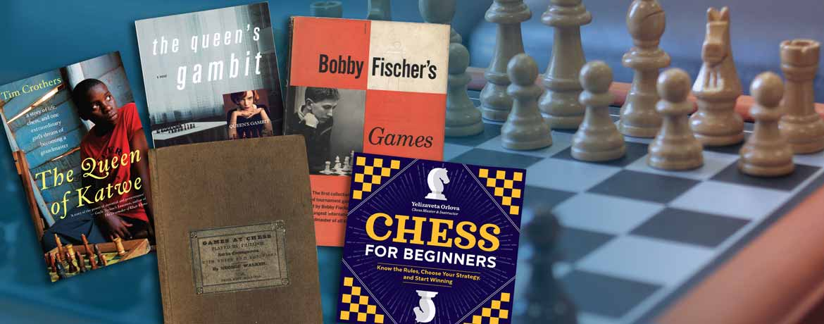Biblio has a wide variety of chess books for beginners to Grand Masters