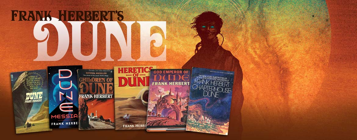 Collecting the Dune Series by Frank Herbert