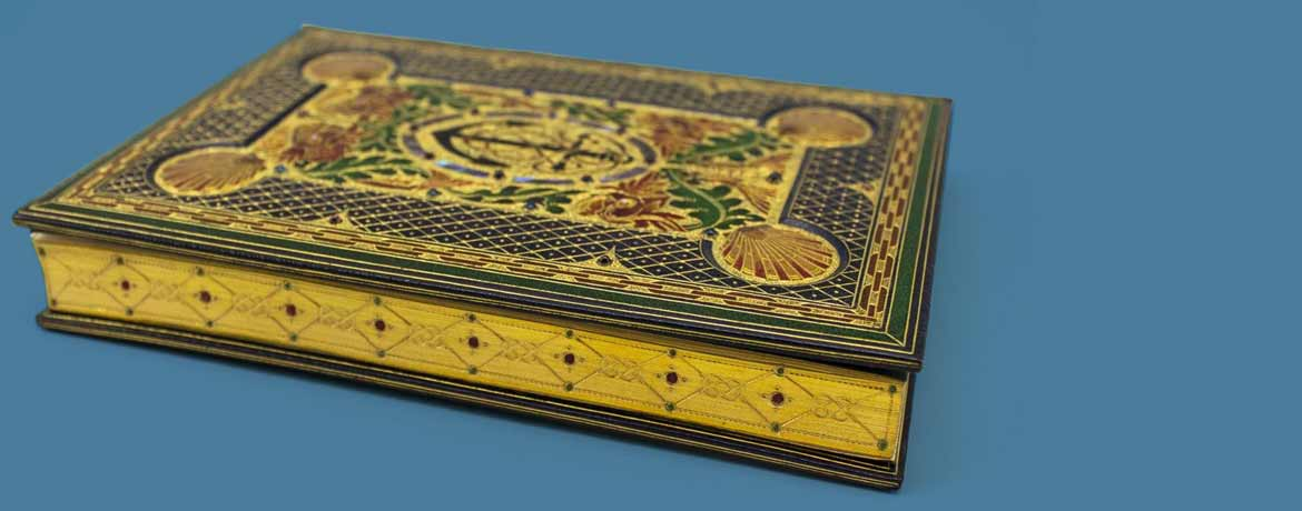 collecting rare books with special bindings, like Sangorski and Sutcliffe