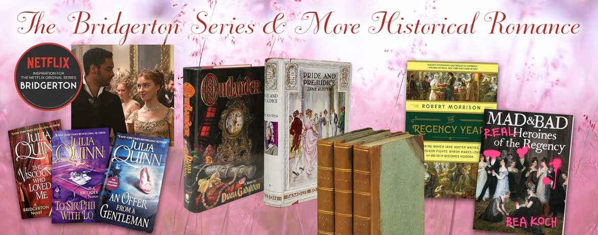Romance novels for fun reading and collecting valuable editions