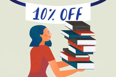 Book lovers can save on books by joining our Bibliophiles club