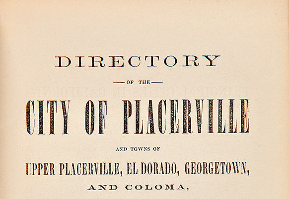 Collecting and Using City Directories