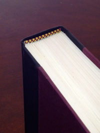 example of a book with a headband